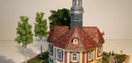Jagdhaus Meusegast/Weesenstein 1:87