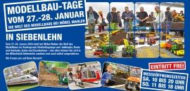 Modellbau-Tage bei Möbel Mahler    27. & 28. Januar 2018