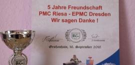 Zur 13. Modellbauaustellung des PMC Riesa am 15. & 16. September 2018