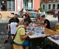 Kinderbasteln zur Vereinsmeile in Heidnau 18.08.2019