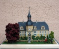 Schloss Naundorf bei Schmiedeberg um 1900 im Maßstab 1 /87 von Rainer Dierchen