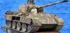 Panther A auf schweren Plattformwagen von Sven Boden