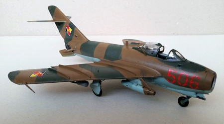 Die MiG-17F von Wolfgang Tamme