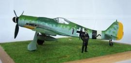 Focke-Wulf Fw 190 D-9 von Lothar Greifenberg – Italeri 1/48
