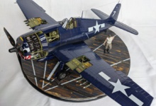 """Grumman F6F-5 Hellcat """"Paper Doll"""" – von Sven Boden Airfix 1/24"""