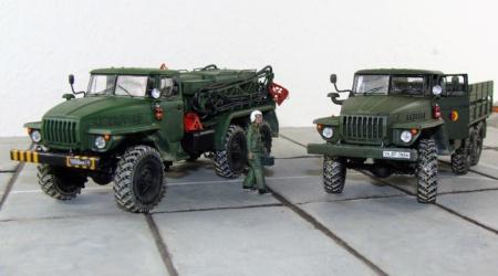 Ural 4320 von Thomas Tümpel – KittyHawk 1/48