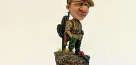 WWII German DAK von Sven Boden – NUTS PLANET 54mm
