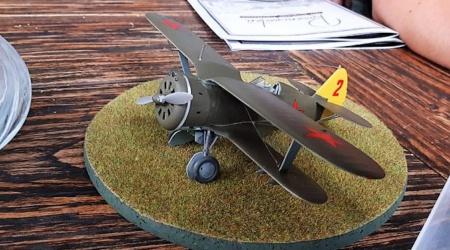 Polikarpow I-153 von Wolfgang Tamme – 1/48 ICM